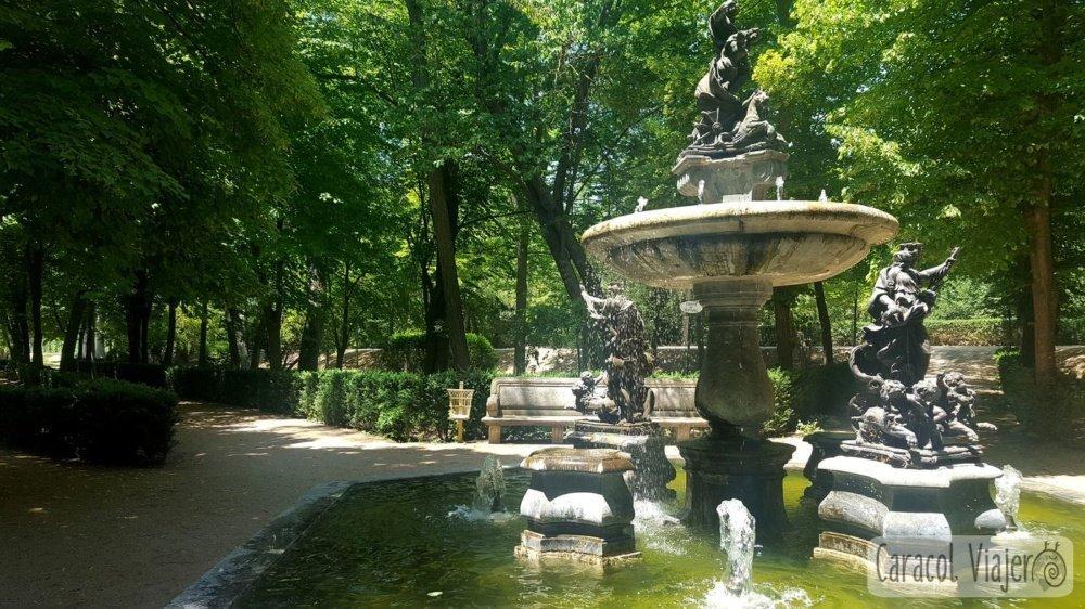 Visitar el palacio de Aranjuez