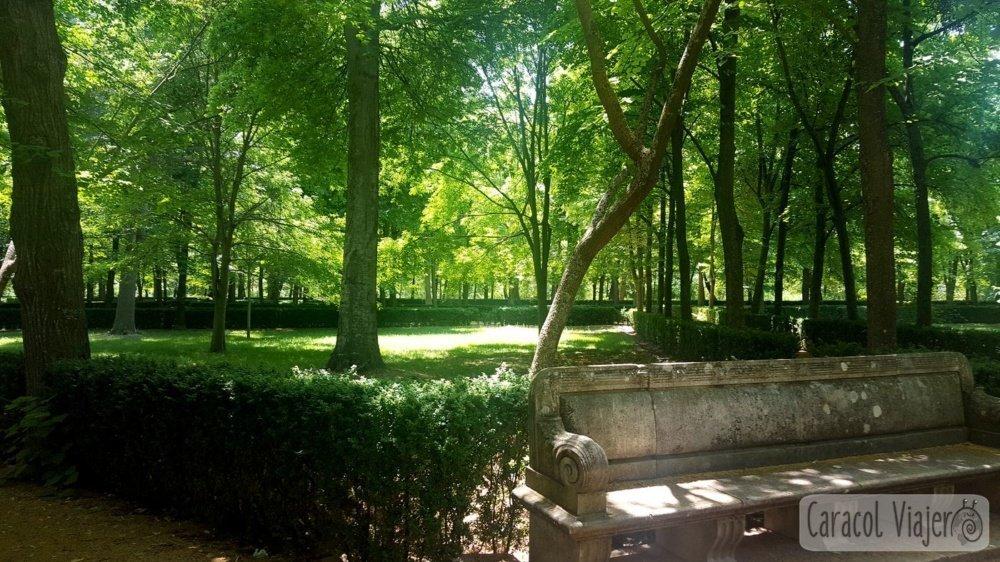 Jardín de la Isla en Aranjuez