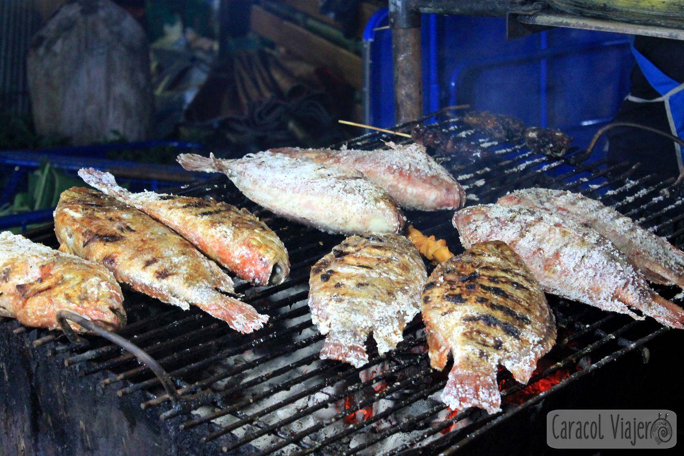 Ascuas pescado