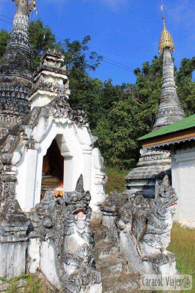 Wat Muai To leones