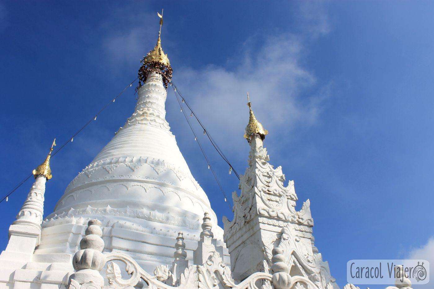 Templo blanco en Mae Hong Son