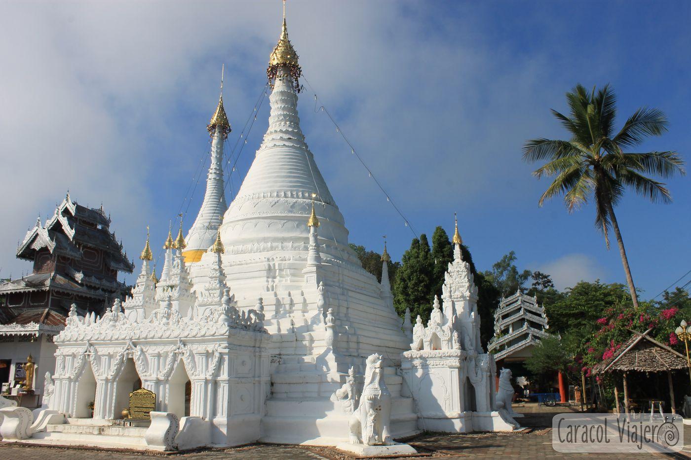 Templo blanco de Mae Hong Son