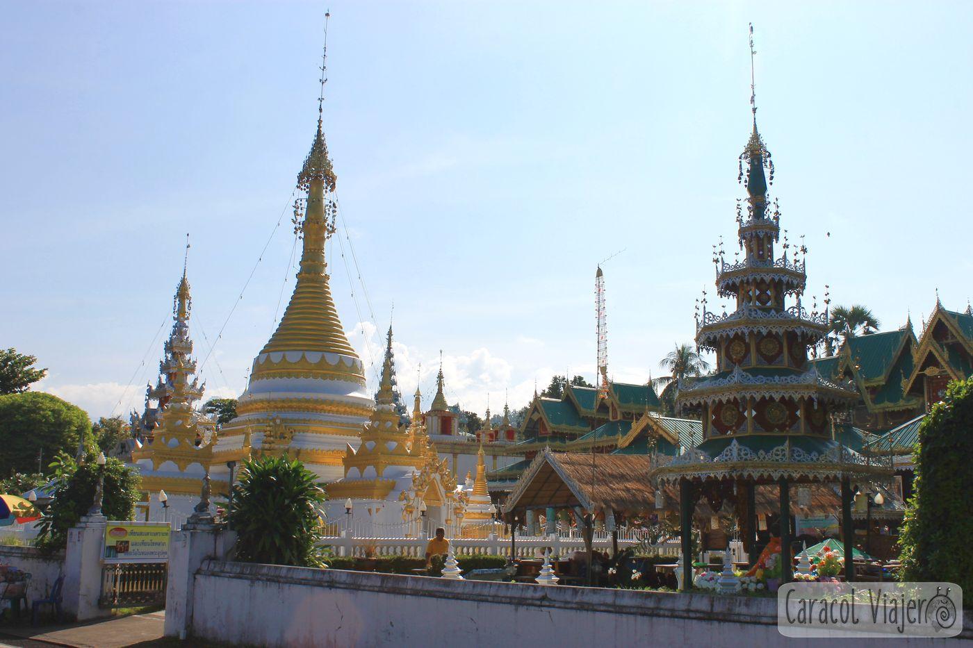 Wat Jong Khamtemplo en Mae Hong Son