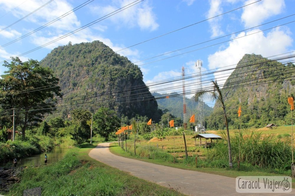 Tailandia entre montañas