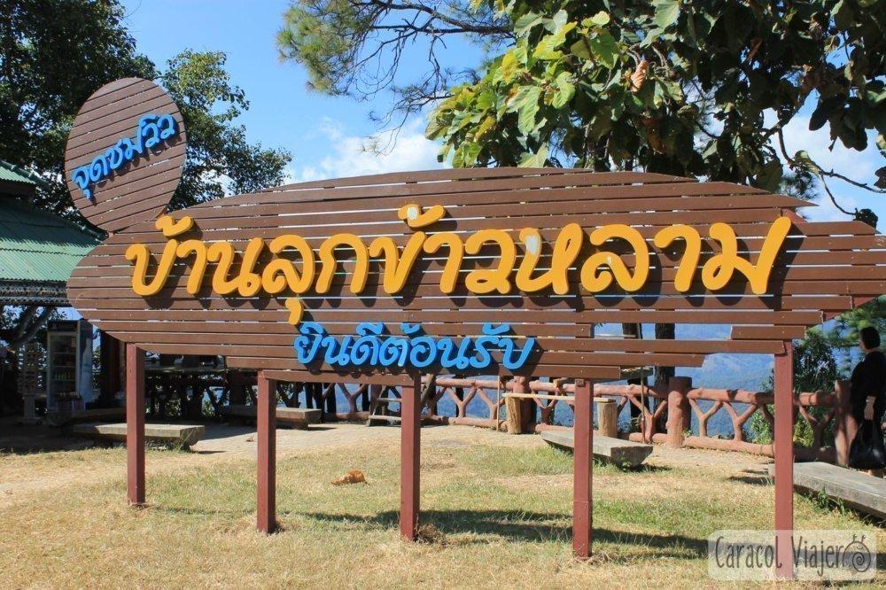 Mirador norte de Tailandia