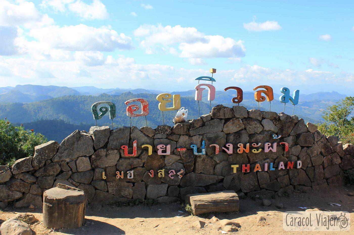 Mirador en Tailandia