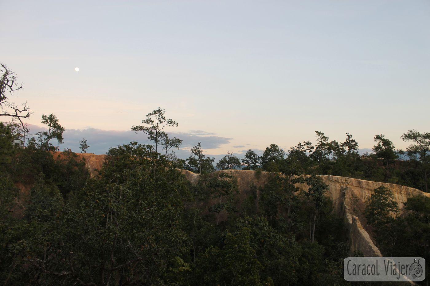 Vistas desde el cañón de Pai.