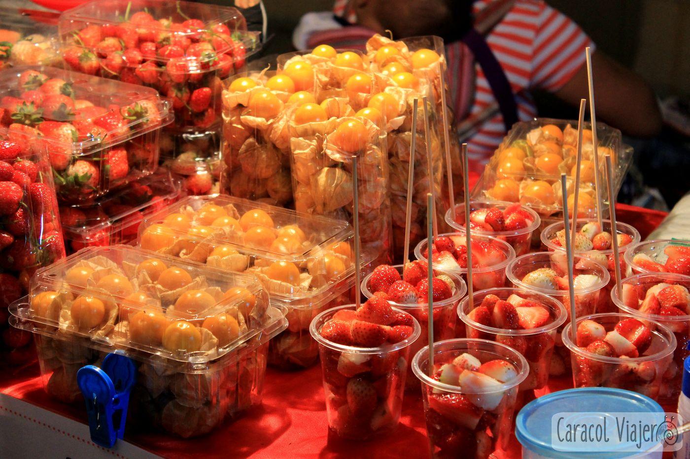 Fruta en Tailandia