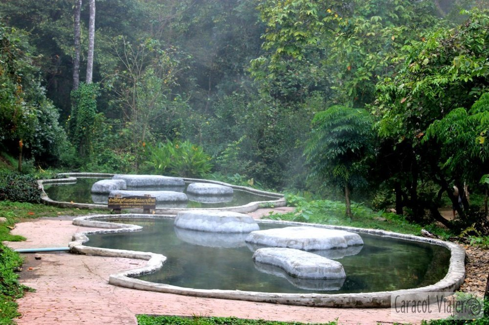 Hot springs en Pai
