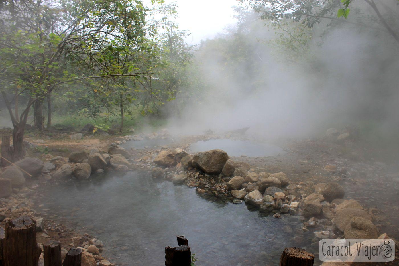 qué hacer en Tailandia - hot springs en Pai