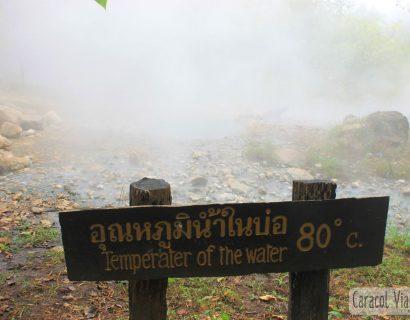 Aguas termales de Pai, norte de Tailandia