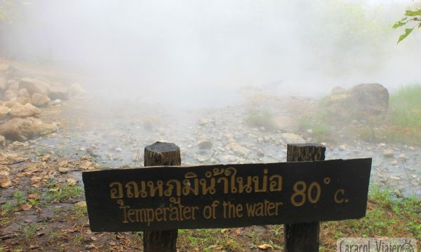 Qué hacer en Tailandia: las aguas termales de Pai