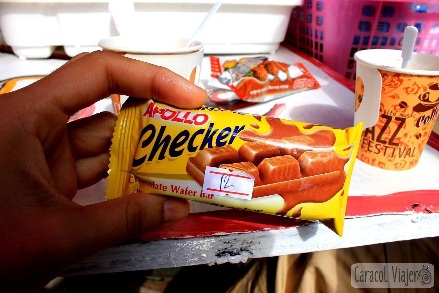 Chocolate en Tailandia - 12 bahts