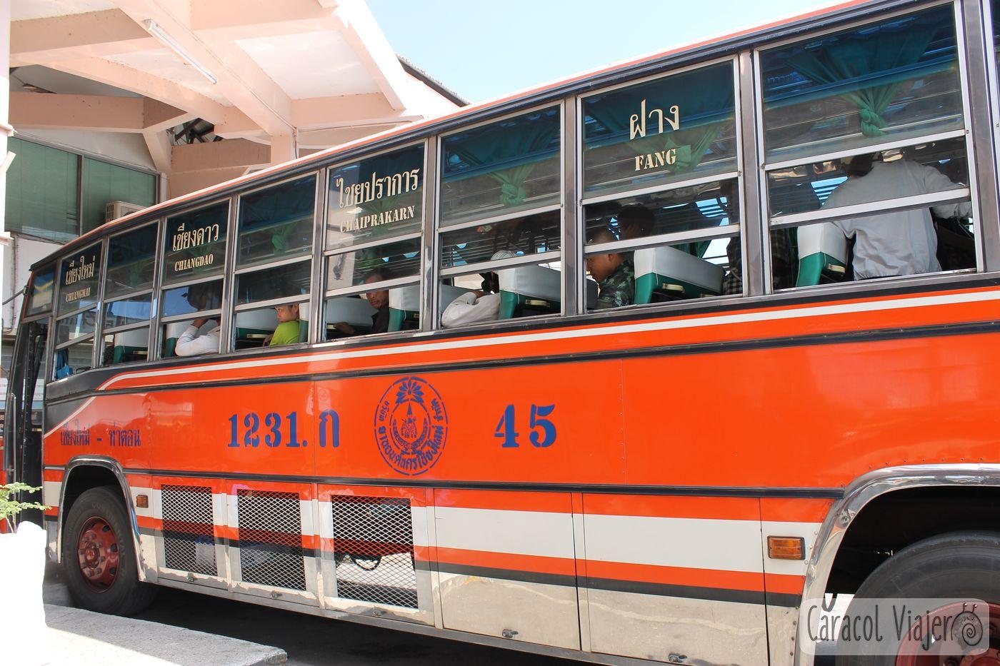 Autobuses en Tailandia qué hacer en Tailandia