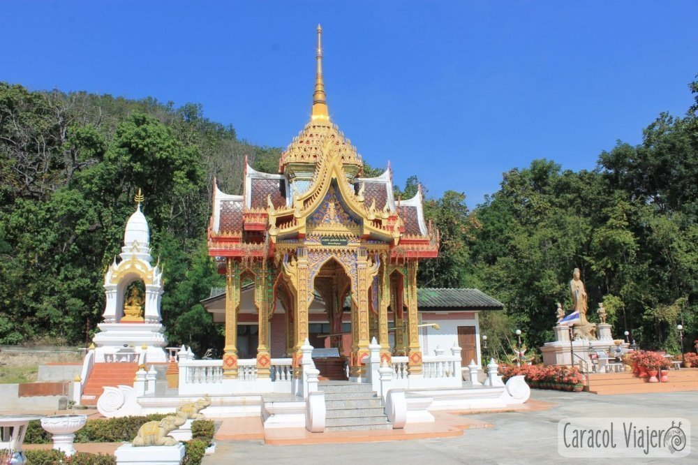 Wat Namtok Mae Klang en Doi Inthanon