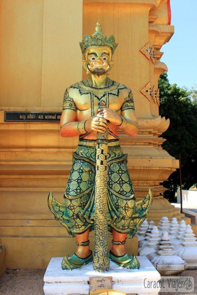 Pagoda Wat Namtok Mae Klang