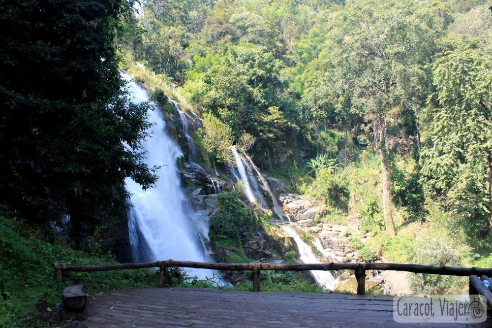 Wachirathan Waterfall mirador