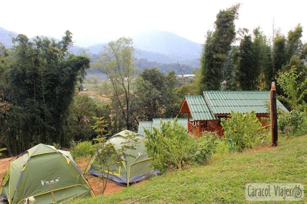 Acampar en Doi Inthanon
