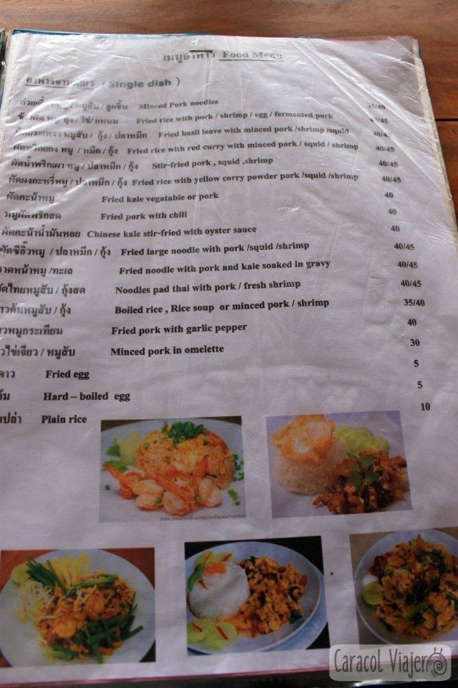 Comer en Doi Inthanon
