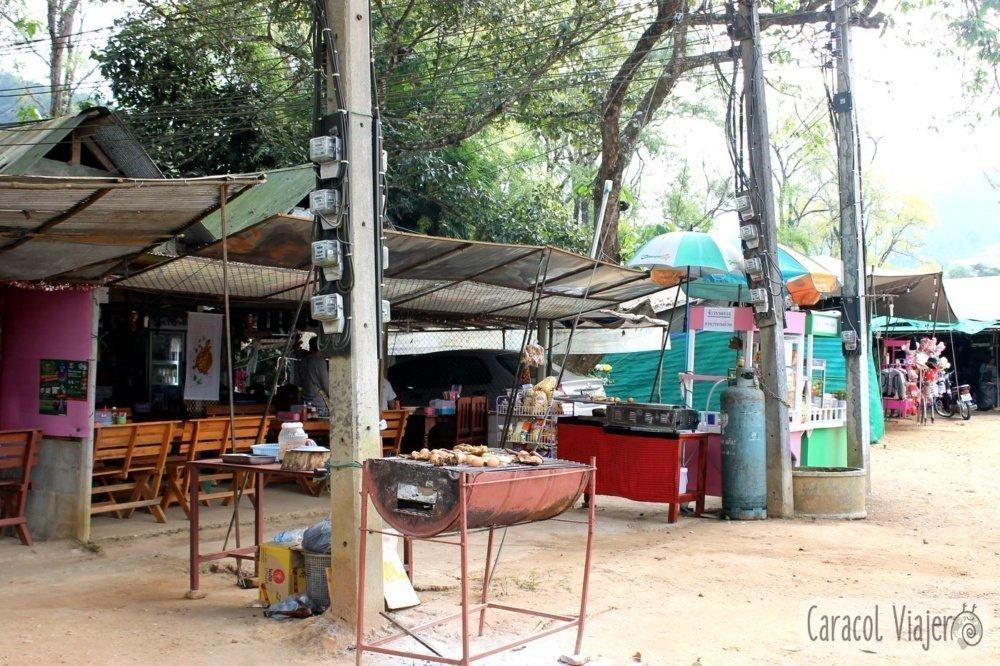 Chino en Doi Inthanon comida
