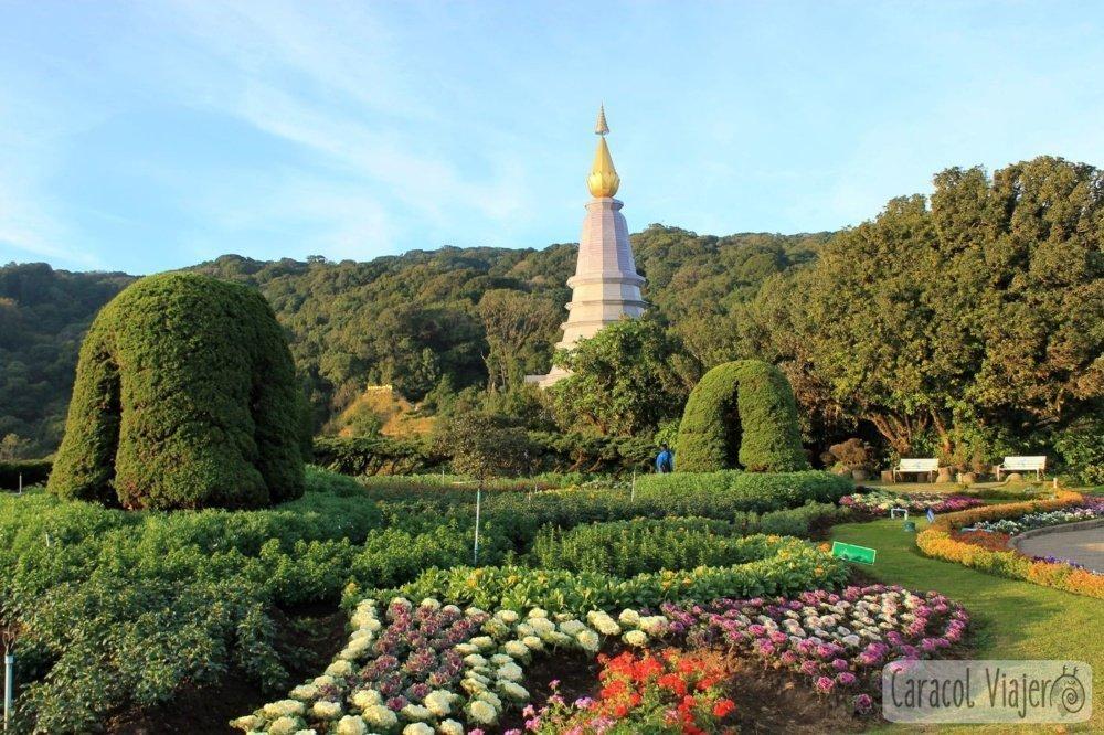 Pagoda Naphamethanidon Naphapholphumisiri