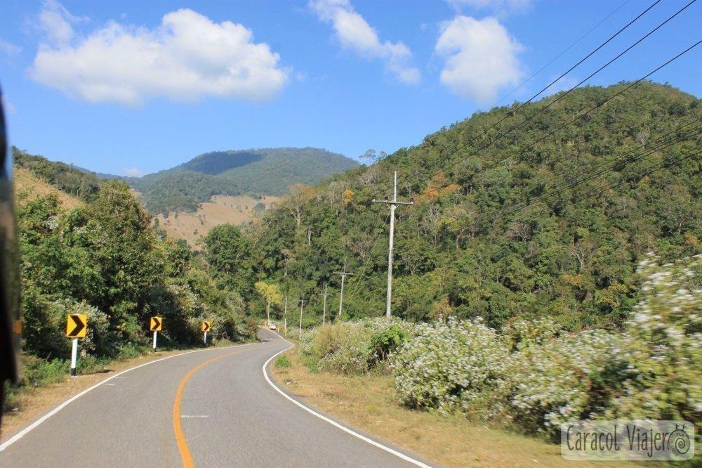 Carretera en Tailandia