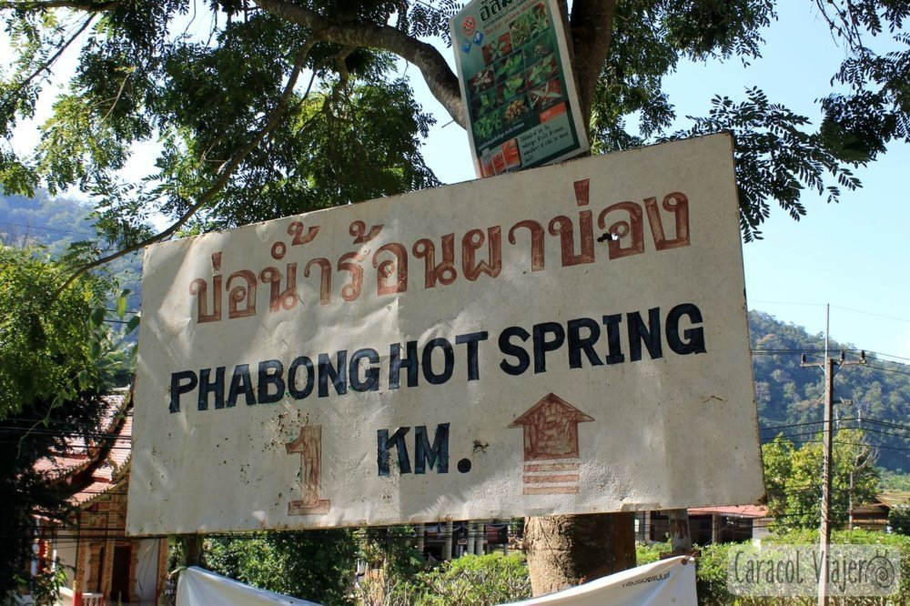 Phabong Hot Springs Tailandia