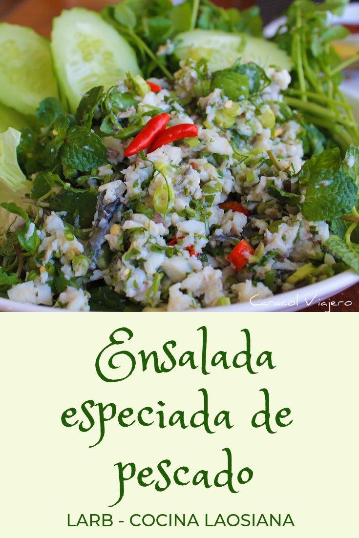 Larb - ensalada especiada