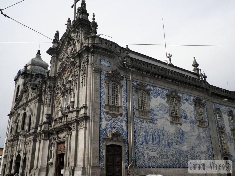 Exterior iglesia Oporto