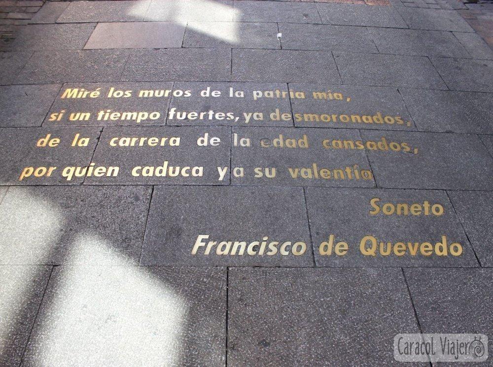 Calles del Barrio de Letras