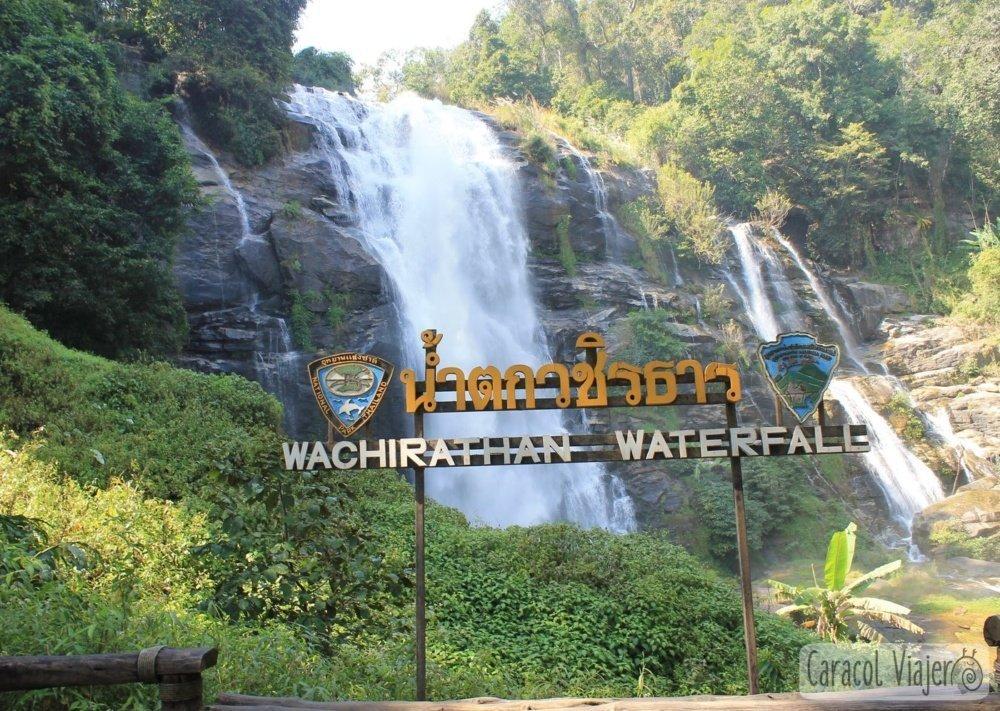 Wachirathan Waterfall Tailandia