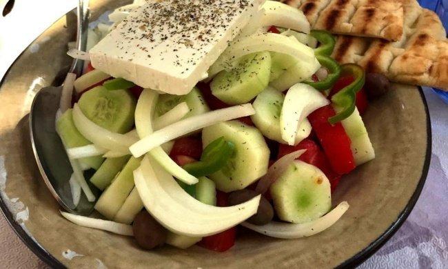 ¡La ensalada griega auténtica! Joriátiki
