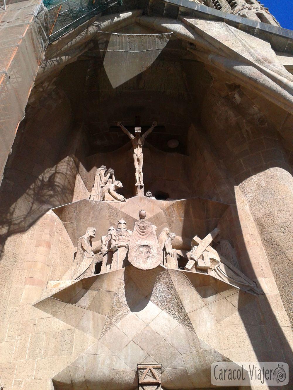 Motivos en Sagrada Familia exterior