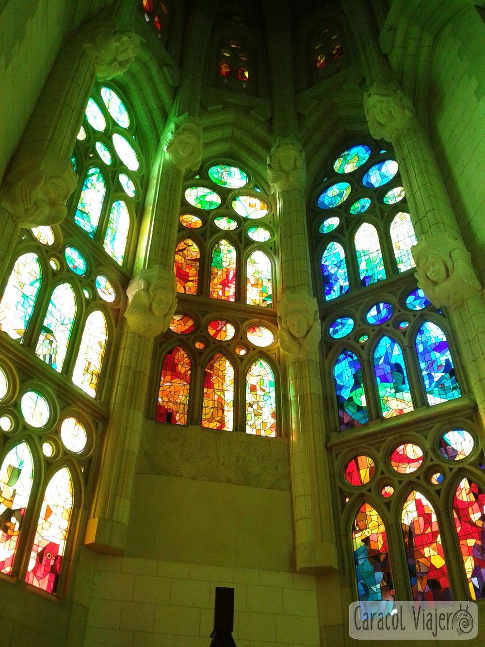 Vidrieras de Sagrada Familia