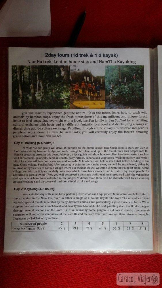 excursiones Laos