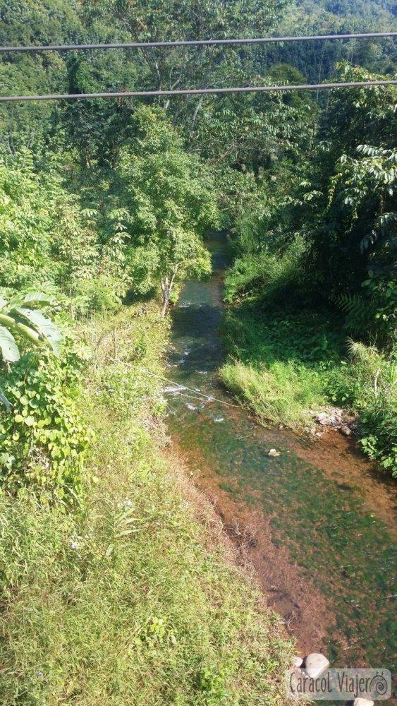 río en Nam Ha
