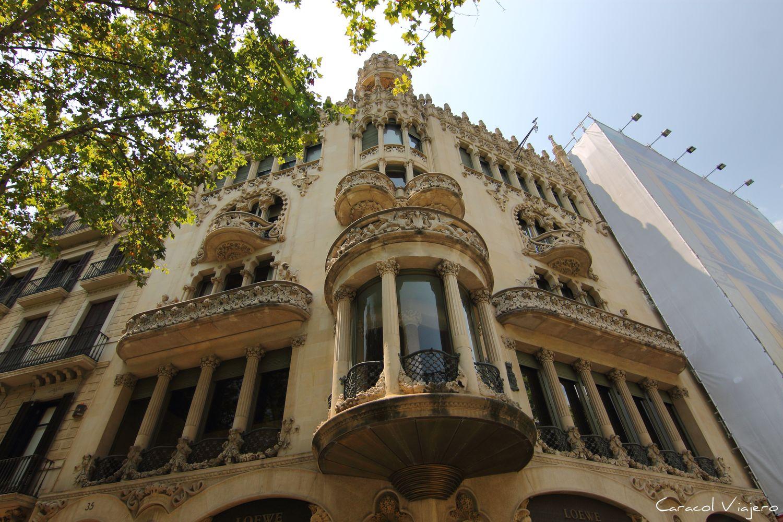 Lleoó Morera Barcelona Modernista