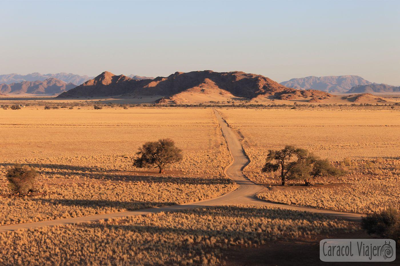 Sesriem desierto de Namibia y Valle de la Muerte