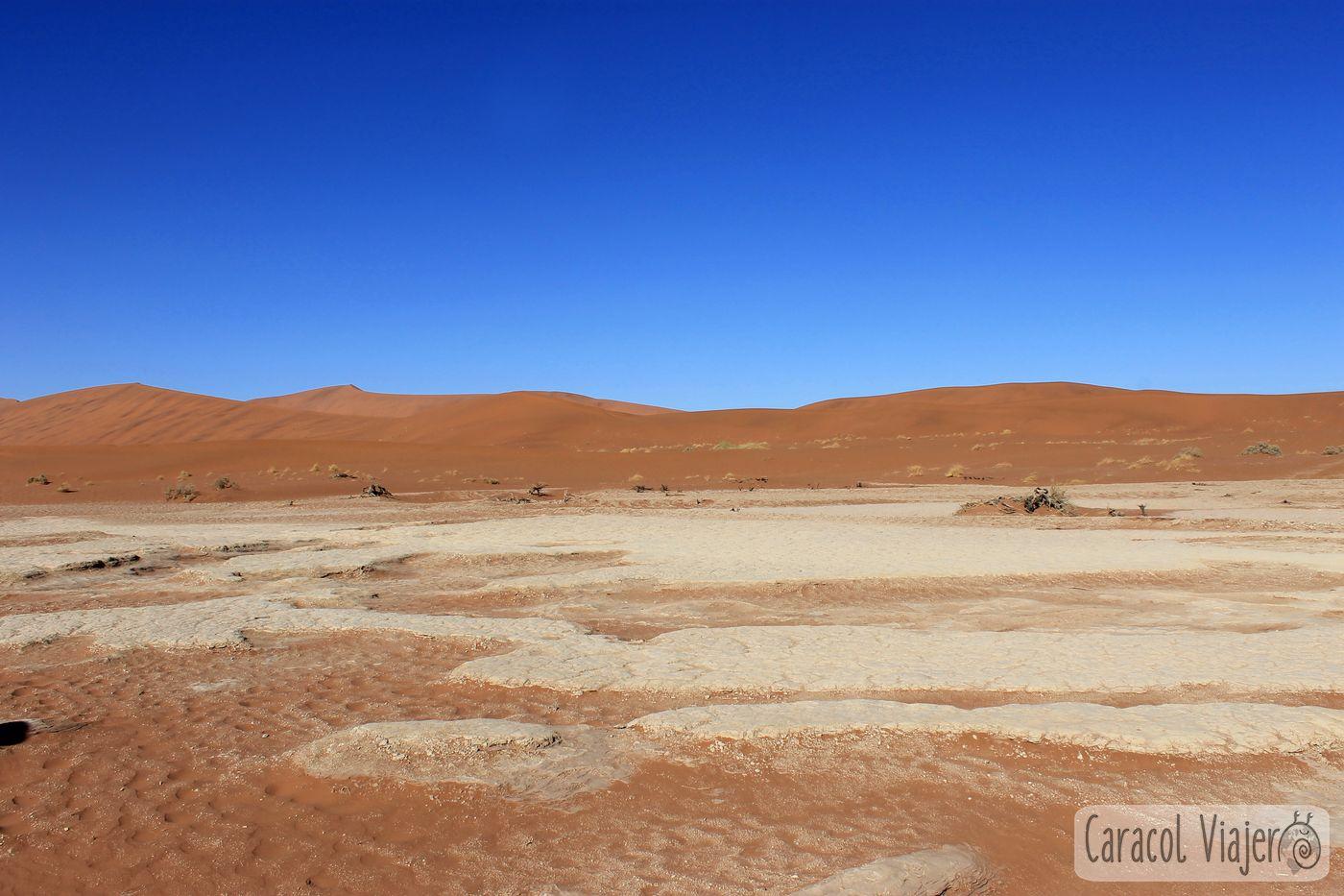 Deadvlei desierto de Namibia y Valle de la Muerte