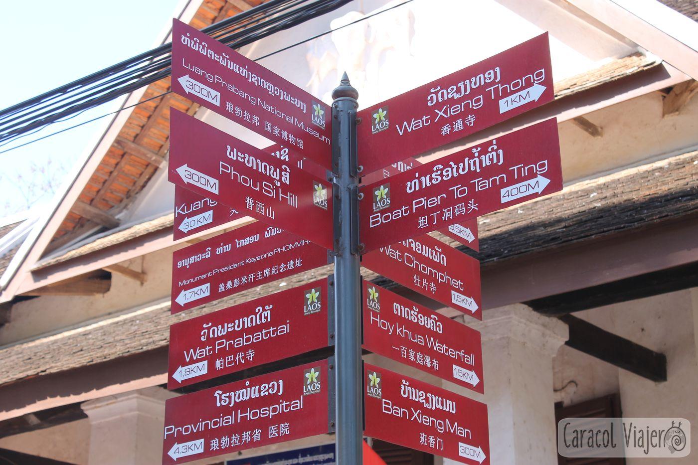 Luang Prabang andando