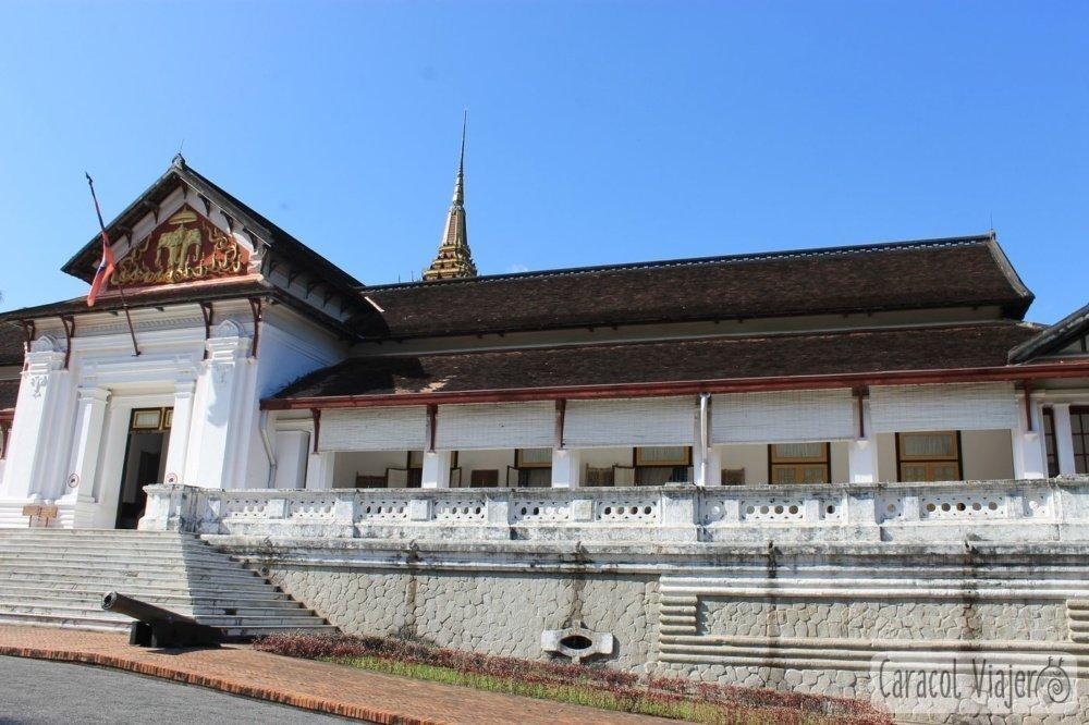 Museo del palacio real en Luang Prabang