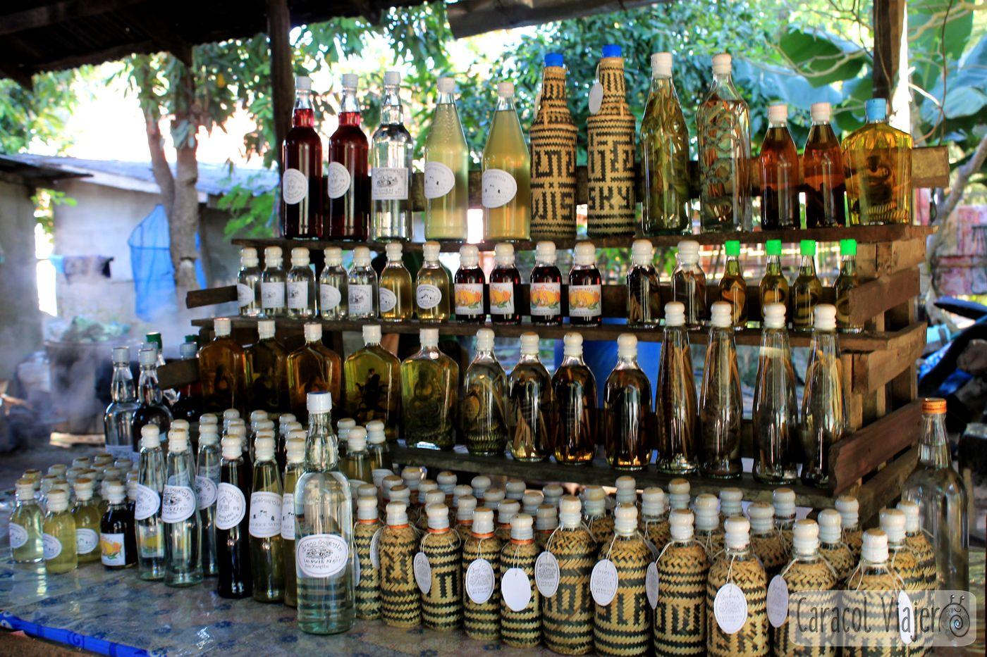 La aldea Whisky Laos