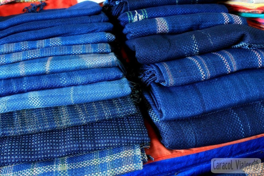 Indigo azul