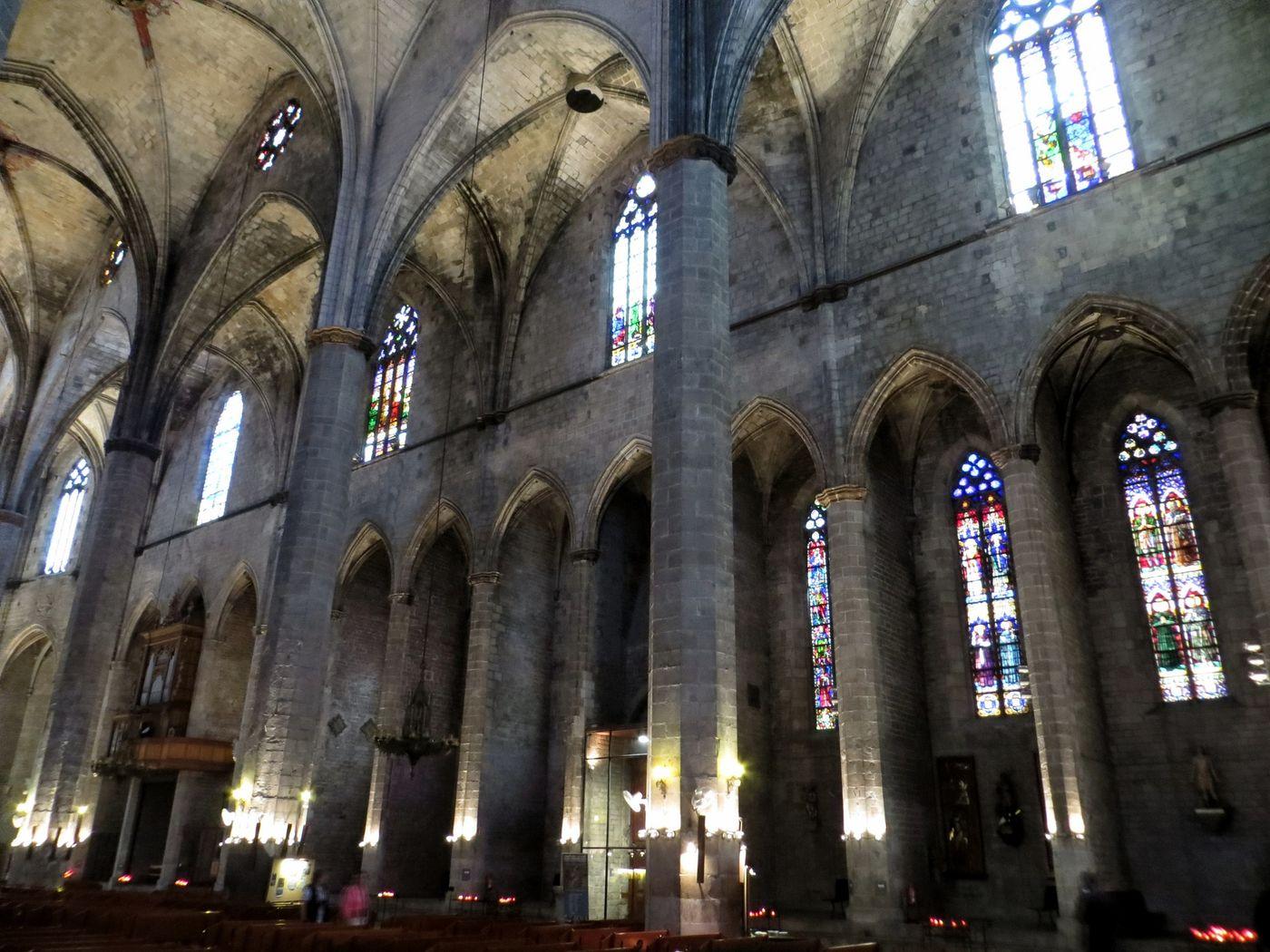 Interior Santa Maria del Mar