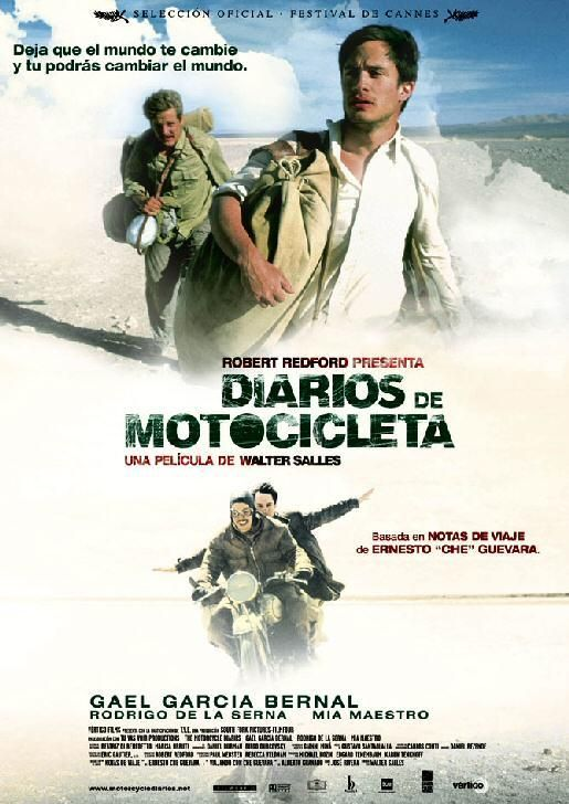 Motorcicle diaries - pelculas de viajeros