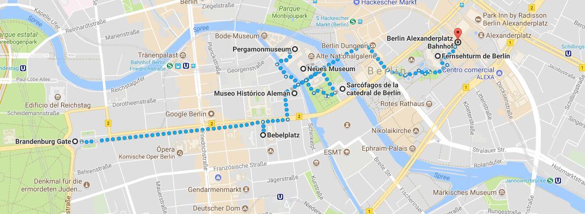 Ruta por Berlín segundo día