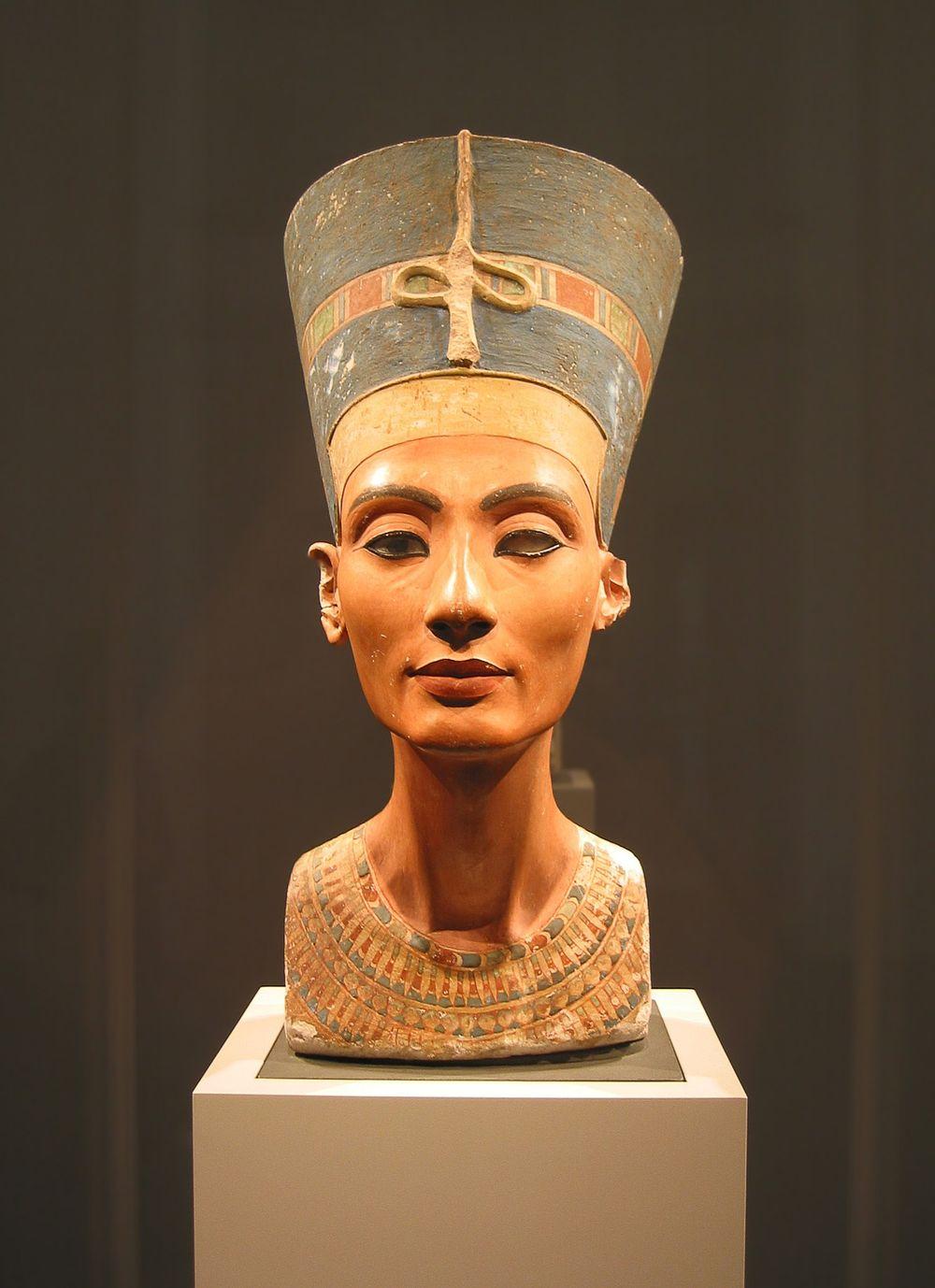 Nefertiti Neues Museum de Berlin