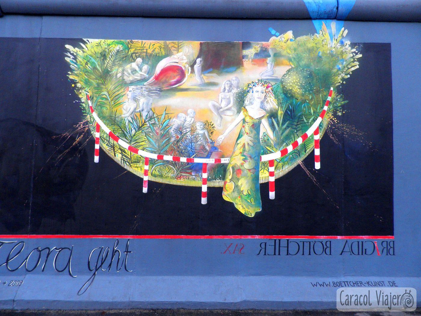 Galeria al aire libre - cosas que hacer en Berlín
