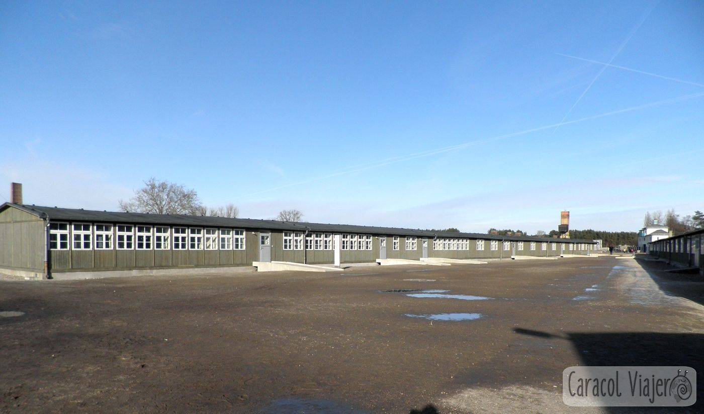 Campo de concentra judío ción Sachsenhausen.