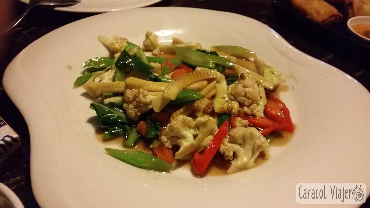 Verduras mix Chiang Dao